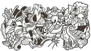 doodle terbaru contoh gambar yg mudah di gambar fontoh