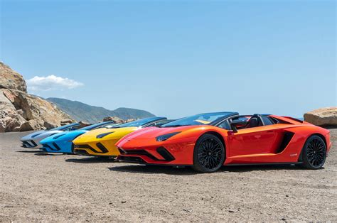 2018 lamborghini aventador s roadster review top speed 2018 lamborghini aventador s roadster review automobile magazine