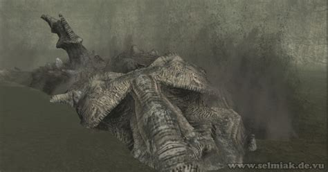 3d Walkthrough shadow of the colossus tenth colossus 10 dirge sandworm