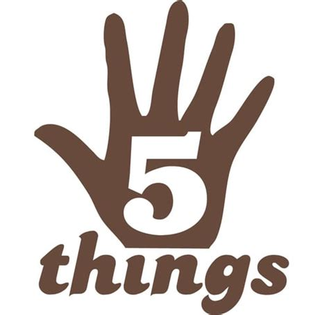 5 Things That Are For You 5 things you need to take consideration in web design