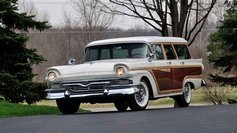 country ford 1957 ford country squire wagon s195 indy 2014