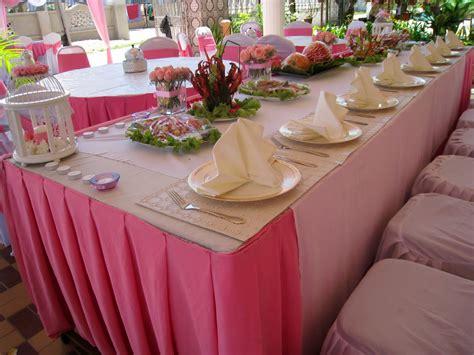Petal Tabur Bunga Tabur deco meja makan beradap untuk rina spreadmyhappiness
