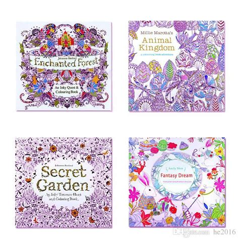 secret garden coloring book wholesale mini coloring books secret garden animal kingdom