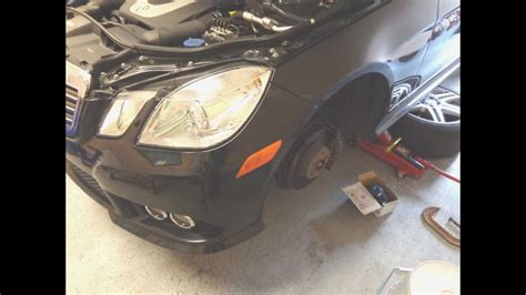 service manual how to change a 2011 mercedes diy w212 mercedes e350 how to replace install brake pads youtube