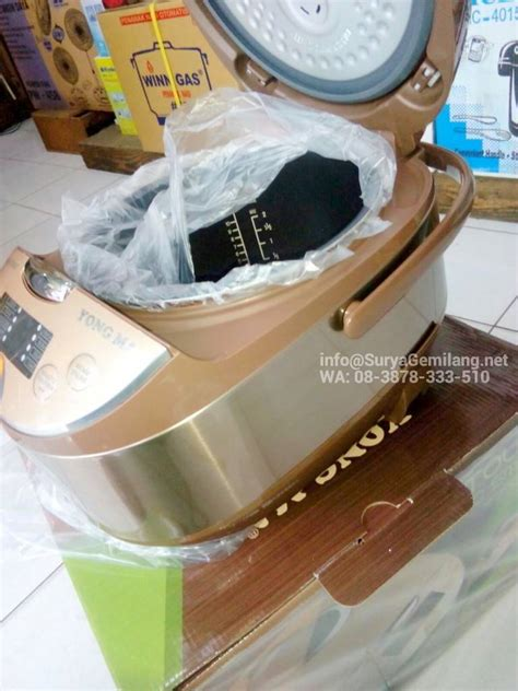 Gojek Yong Ma Magic Digital Ymc 116b 2 Liter Murah Biru Jual Magic Yong Ma Digital Ymc111 Rice Cooker Asli