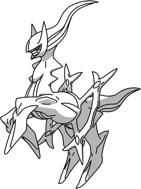 pokemon coloring pages arceus arceus outline by mothergarchomp622 on deviantart