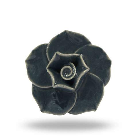 Ceramic Flower Knobs by Ceramic Flower Knobs Neelam By Trinca Ferro