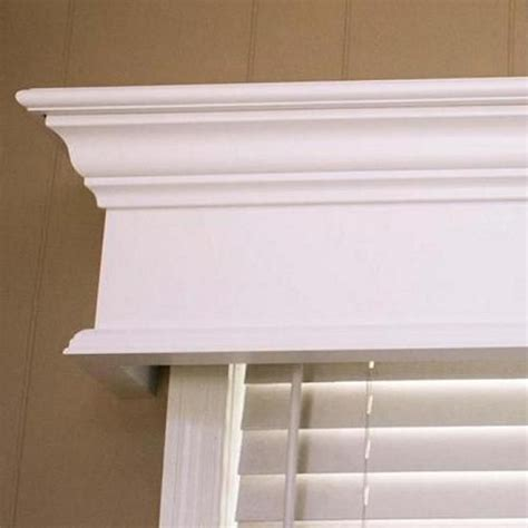 Wood Cornice Box Wood Valance Window Cornices And Cornices On