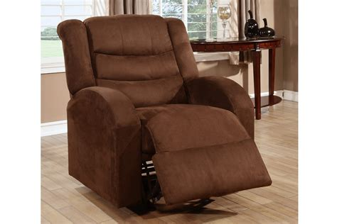 Microfiber Recliner Chair by Winslow Chocolate Microfiber Rocker Recliner Chair
