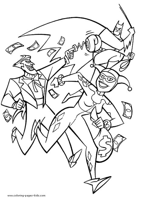 batman harley quinn coloring pages batman joker and harley quinn coloring page batman