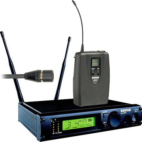 Mic Shure Ulx 4nkoper Alumenium Wireless shure ulx professional series wireless lavalier ulxp14 51 g3