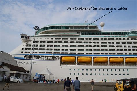 best deck on of the seas cabin on royal caribbean explorer of the seas cruise ship