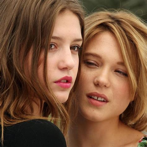 lea seydoux eyes l 233 a seydoux giving ad 232 le exarchopoulos the bedroom eyes