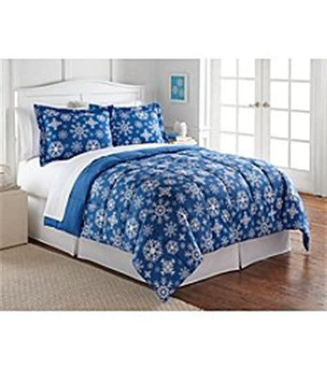 Snowflake Comforter by Bon Ton Up To 60 Cold Weather Bedding As Low As 6