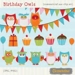 Printable owl clip art birthday clip art royalty free commercial