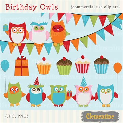 free royalty free clipart printable owl clip birthday clip royalty free