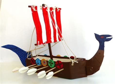 How To Make A Viking Longship Out Of Paper - geography archives navigating by