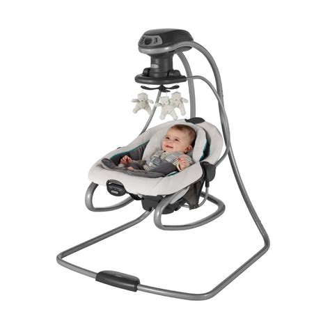 graco 6 speed swing graco duetsoothe 6 speed removable swing rocker with