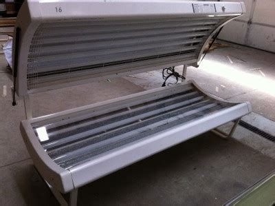 prosun tanning bed prosun solarium 16 model 1600 home tanning bed ebay