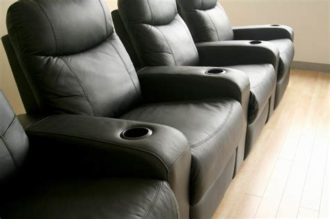 reclining movie seats home theater seating recliner movie chairs 4 seats ebay