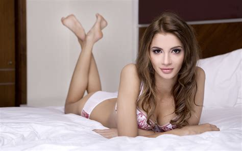 hot girl in bed beautiful girl laying on bed stunning looks