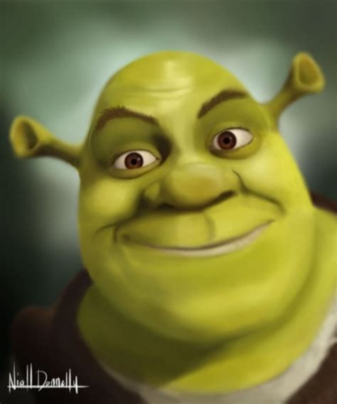 free shrek painting shrek by the avenged evil on deviantart
