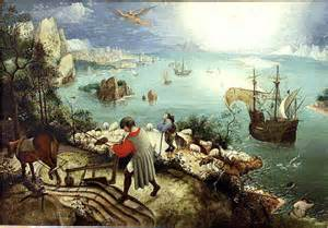Landscape With The Fall Of Icarus Painting Bruegel S Icarus And The Perils Of Flight Journal Of
