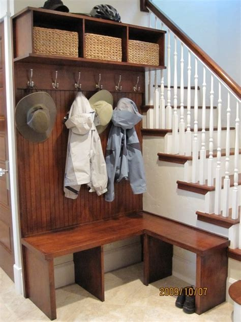 corner entry bench coat rack built in bench with coat rack mudroom laundry room