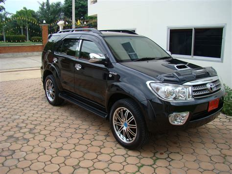 Shockbreaker Avanza 2005 Toyota Fortuner Black Modified Www Imgkid The