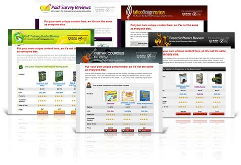 10 premium affiliate review website templates