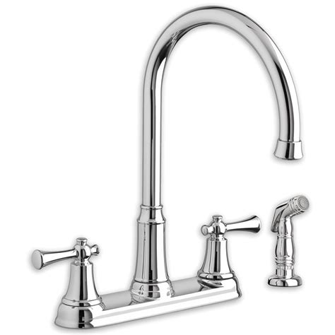 high arc kitchen faucets standard portsmouth 2 handle high arc kitchen