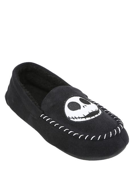 nightmare before slipper boots the nightmare before guys moccasin slippers