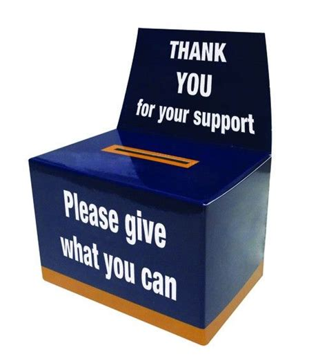 letter box charity flat pack charity boxes search flat pack