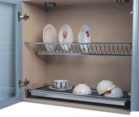 Rak Piring Model Kitchen Set rak piring stainless dalam lemari kabinet lintang fittings