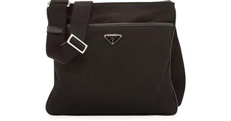 Prada Cross Bag by Prada Cross Bags Black Black Leather Prada Tote
