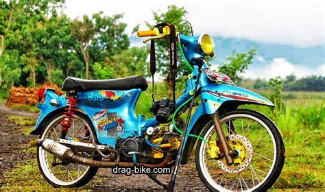Foto Motor Modifikasi Keren by 40 Foto Gambar Modifikasi Honda C70 Kontes Airbrush