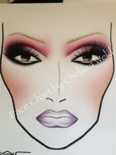 Eyeshadow Viva 158 best charts images on mac charts