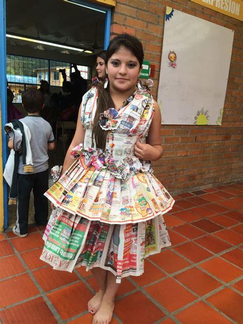 vestidos para nia con material reciclado apexwallpapers com 33 best images about desfile de vestidos con material
