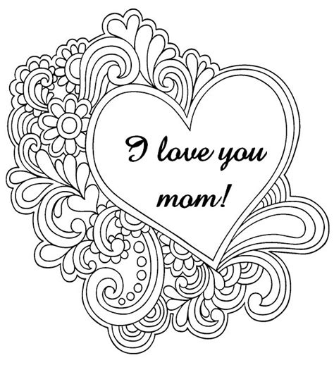 coloring pages of i love you mom i love you mom coloring pages az coloring pages