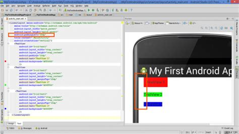 elements in linearlayout lesson how to use margins and paddings in android layout