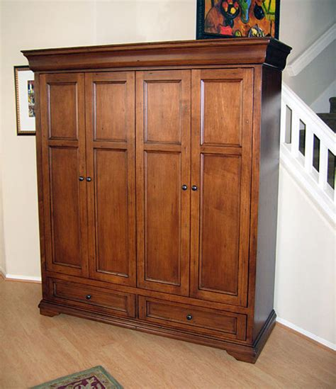 Armoire Doors by Tuscany Armoire Wall Unit Hide Your Flat Panel Tv
