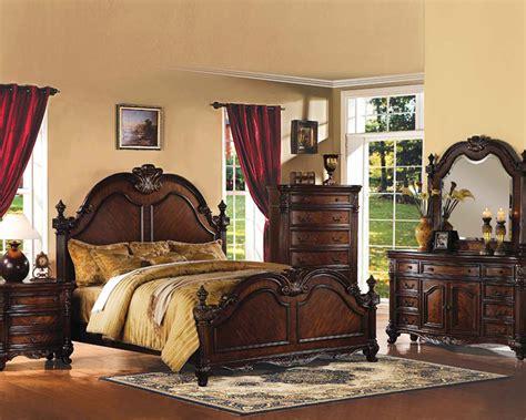 traditional bedroom set traditional bedroom set remington by acme furniture ac20270set