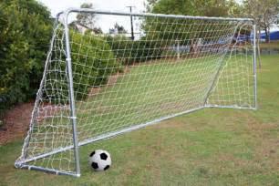 backyard soccer goals backyard soccer field outdoor furniture design and ideas