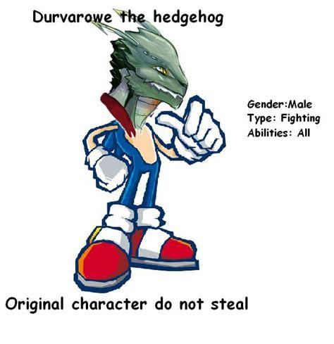 Original Character Meme - original character durvarowe the heddogeh sonic original