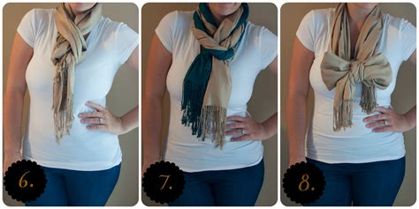 How To Fold Infinity Scarf 10 Ways To Wear A Scarf All That Glitters