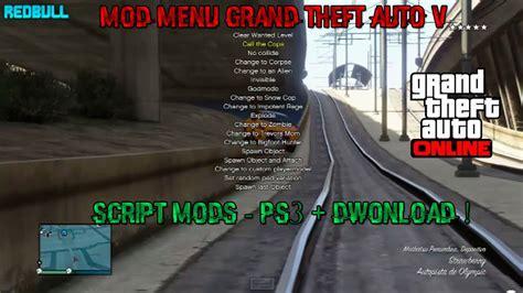 mod gta 5 online ps3 1 20 gta v online mod menu ps3 script mods vcahaxclient