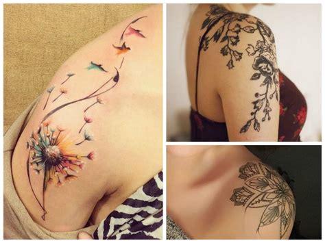 tatuaggi fiori di loto sulla spalla tatuaggio sulla spalla 20 idee a cui ispirarsi donna