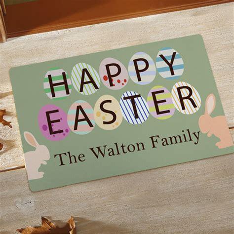 Design Your Own Doormat Create Your Own Happy Easter Door Mat