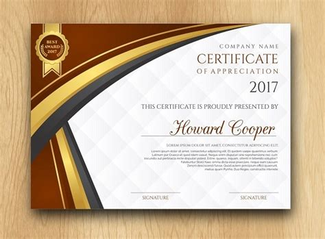 certificate templates psd 45 best certificate diploma templates psd eps ai