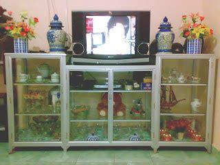 Rak Tv Etalase rak piring alumunium di jambi pabrik lemari rak piring